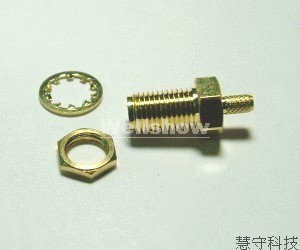 Coaxial cable connectors female to female