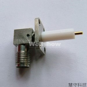 Sma Female Jack Panel Connector Rf Connectors Coaxial